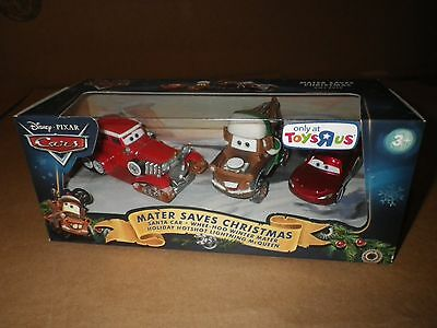 Disney Pixar Cars Mater Saves Christmas gift pack sealed