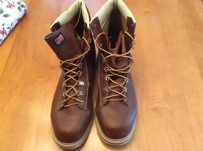 WEINBRENNER Gary Borger Ultimate Wading Shoes Boots 14 Felt Sole