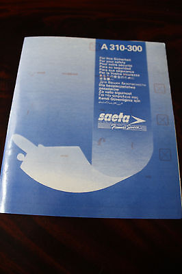Safety Card Saeta The Airline Of Ecuador Airbus A 310