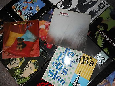 Rare, New Wave And Punk. Vinyl Record Colection,cure ,police,furs,waterboys, Ect