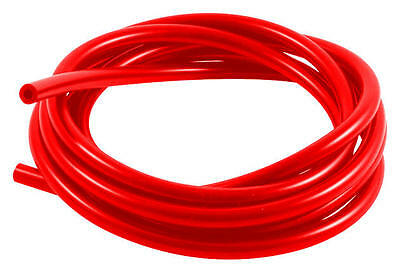 Samco Sport Vacuum Tubing 5mm id x 2.5mm Thick Wall 10mm OD Red