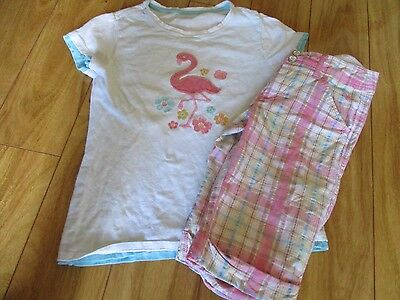 Girls Justice / Gap Top Shorts Summer Spring Outfit Sz 8 10