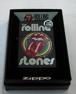 Rolling Stones Zippo Lighter Authentic 2016 Licensed Rock N Roll Mick Jagger  2