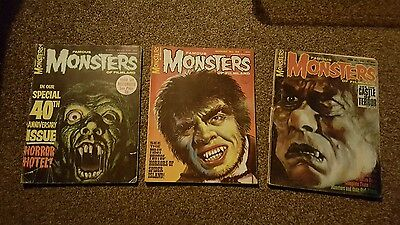 1966 Monsters of Filmland - issues #33 #34 #40