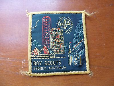 Boy Scouts Sydney Australia  Cloth Badge #