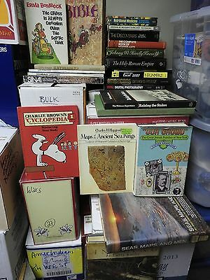 BOOKS - 400 books on various topics,sizes,used in good condition