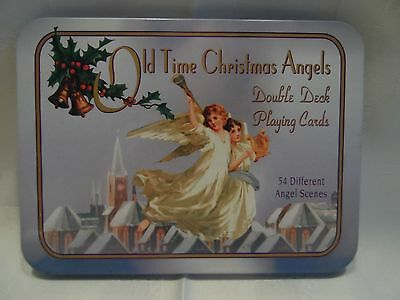 Old Time Christmas Angels, Double Deck Playing Cards