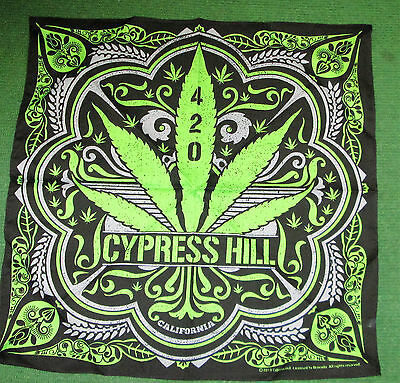 Cypress Hill Vintage Bandana  New  Collectable