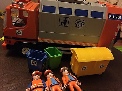 Playmobile Recycling/ Dustbin Lorry