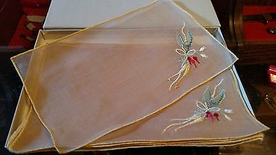 Collectable Marghab Linen Unused Original Box