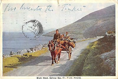 BR68137 black head galway bay clare chariot types folklore ireland