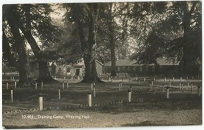 Westing Hall training camp  , Norfolk ??  very scarce and superb  ,  scan .