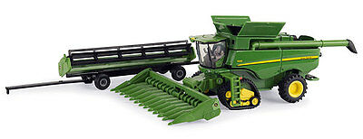 John Deere 1/64 Scale S690 Combine With Tracks Diecast Age 3+ New