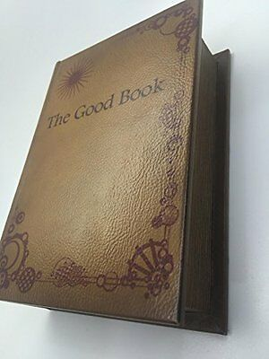 The Good Book Rolling Smoking Wooden Box Bible Book Stash