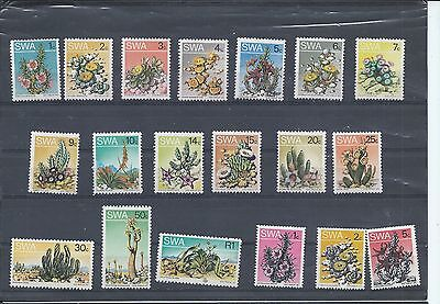 South West Africa stamps. 1973 Succulents Aloes Flowers  MNH/MH (Y162)