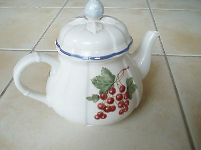 Villeroy & Boch Tea Pot Cottage Country Collection - Excellent Condition
