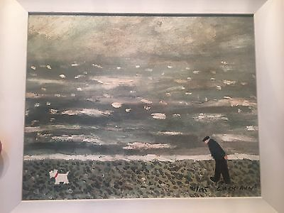 """Gary Bunt Limited Edition 41/195 Giclée Print """"Down By The Sea"""""""