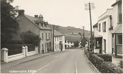 Charmouth , Dorset  , real photo , very scarce   ,  see scan .