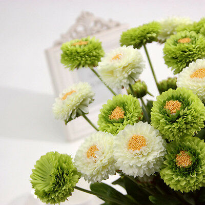 New Artificial Silk Fake Flowers Floral Wedding Bouquet Party Home Decor