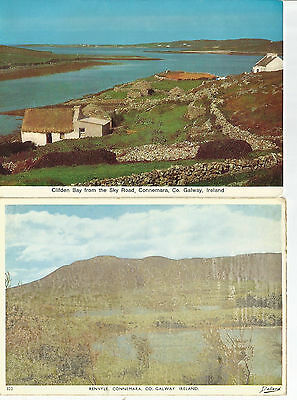 4 Postcards From County Galway,  Ireland,