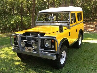 """1977 Land Rover Defender Series 3 Land Rover 88"""" Series 3 GAME Edition Unbelievably Rare Australian Numbered Truck"""