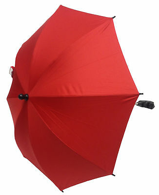 Baby Parasol Compatible with Hauck Stroller Buggy Pram Red