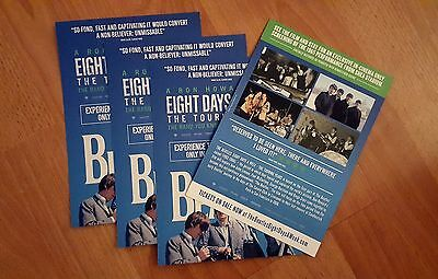 The Beatles: Eight Days A Week (2016) Film Movie Promo Flyer - Ron Howard
