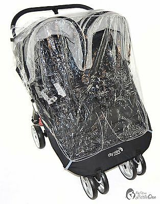 Raincover Compatible With Baby Jogger Citi Mini Twin Double Pushchair (213)