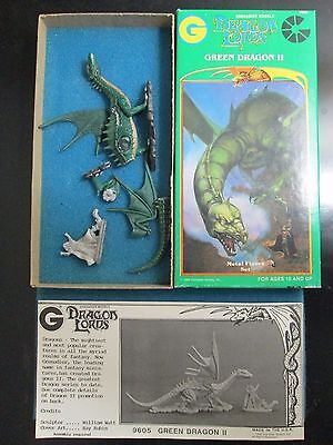 Grenadier Dragon Lords Green Dragon II 9605 complete