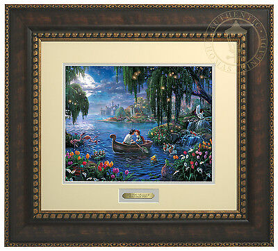 Thomas Kinkade Disney The Little Mermaid II Prestige Home Collection