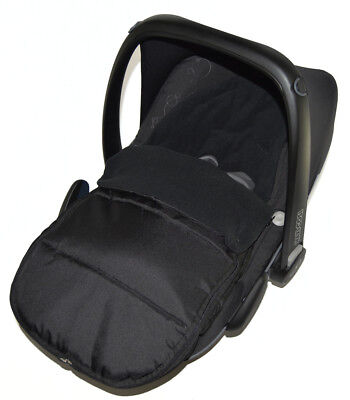 Car Seat Footmuff / Cosy Toes Compatible with Kiddy Evolution Pro Black Jack