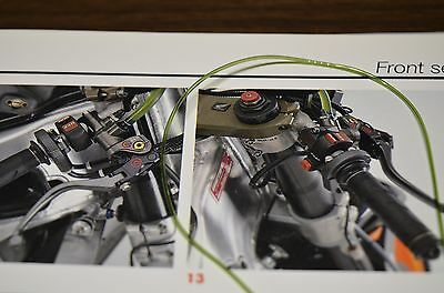 0.94mm olive green hollow tube for Tamiya 1/12 Honda RC211V and other machines