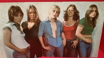 RARE-The Runaways first album--AUTOGRAPHED by 4 Members --Joan Jett/ Lita Ford..
