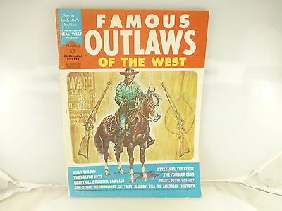Vintage Famous Outlaws of the West Americana Library Fall No 2 Magazine