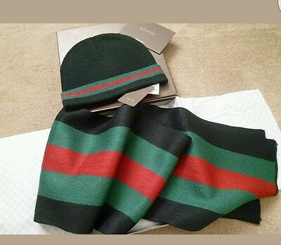 Gucci hat and scarf set christmass