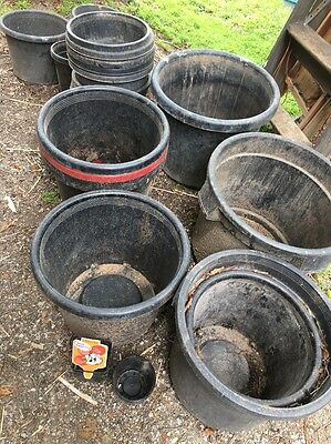 Plastic Garden Pots - mixed lot - pick up Eltham