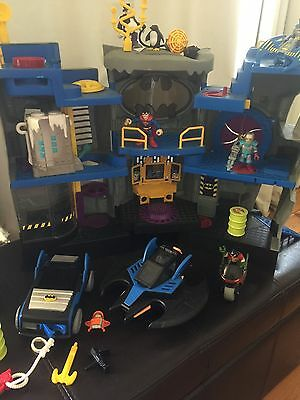 Imaginex Batcave, Vehicles, Bikes & Figures. Bulk lot in time for Christmas!