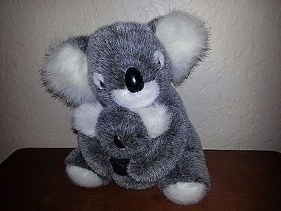 "Koala Australia Made Kim Walker Marony Design Mommy And Baby 9"" Excellent"