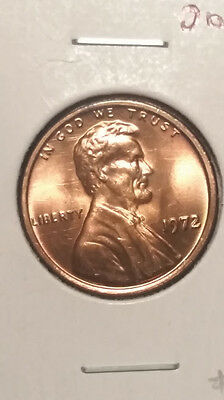 1972 Double Die Lincoln Cent Rare Type 3 Bu/ms???
