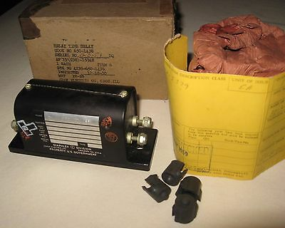 NOS Cook Electric Company Relay Time Delay 650-1436