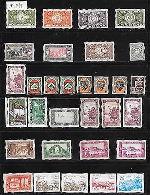 lot 197 French West Africa, Nigeria stamps  mnh, a few mh 2 scans
