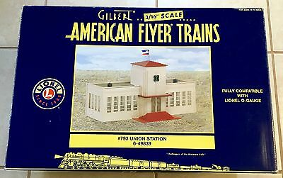 American Flyer Lionel New 6-49839 #793 Union Station S And O Gauge Compatible.