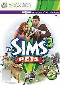 The Sims 3: Pets (Microsoft Xbox 360, 2011)