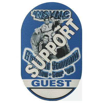 NSYNC authentic Support Guest 1999 tour Backstage Pass