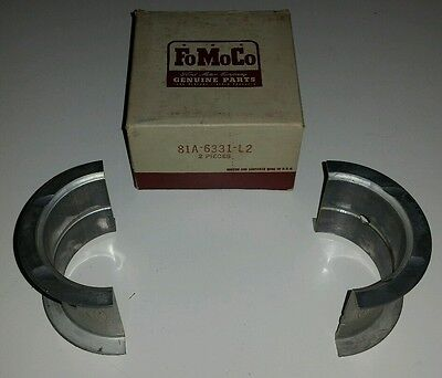 New Nos 1939-48 Ford 90 & 100 Hp Main Bearing Rear 81A-6331-L2 .002 Crankshaft