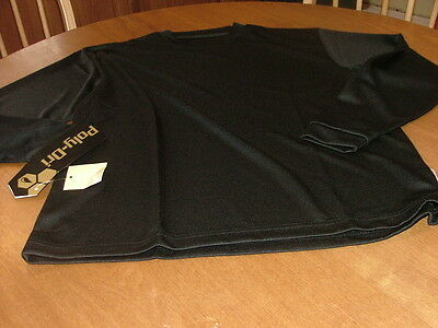 Boy's Colorado Timberline Black Poly Dri Long Sleeved Shirt Size Large  Nwt