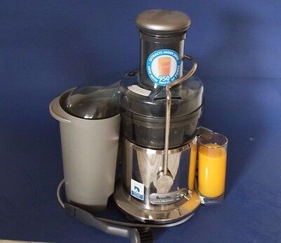 Breville BJE400 Professional Brush Stainless Steel Juice Fountain Juicer