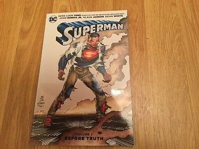 Superman Vol 1 Before Truth. New/unread Paperback Graphic Novel.
