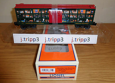 Lionel 6-83315 Christmas Toys Central Stock Car Toy Train O Gauge Freight 2016