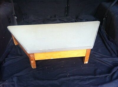 Vintage School Table Stage Toy Footstool Shoes Display Stand Bench Craft Play